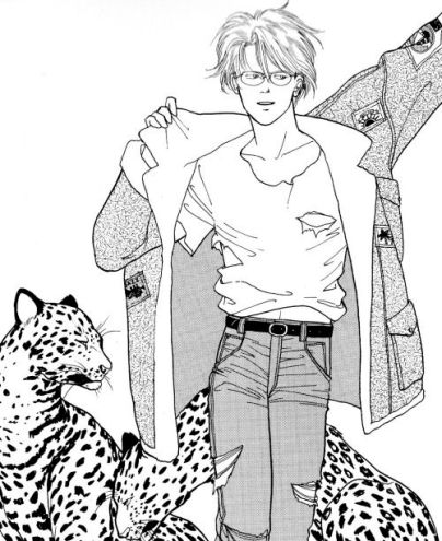 ash with leopards
