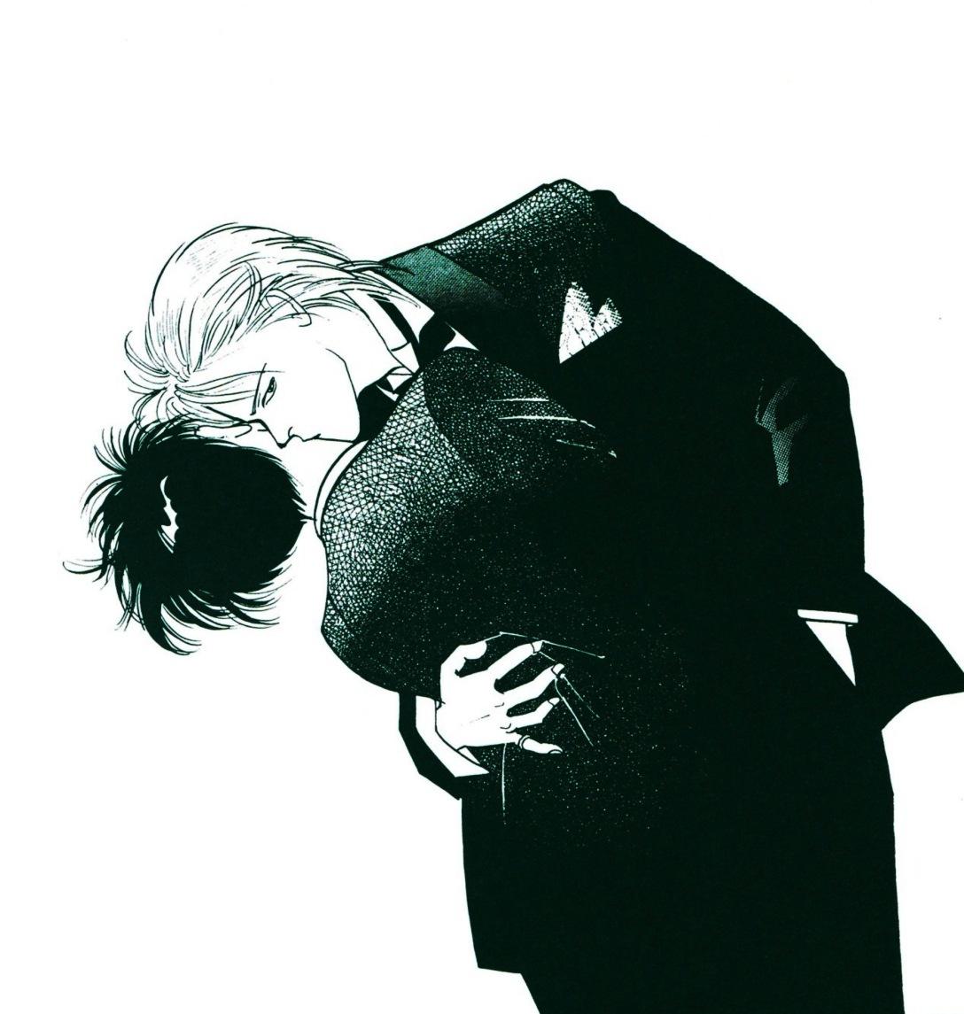 kiss in tuxedo