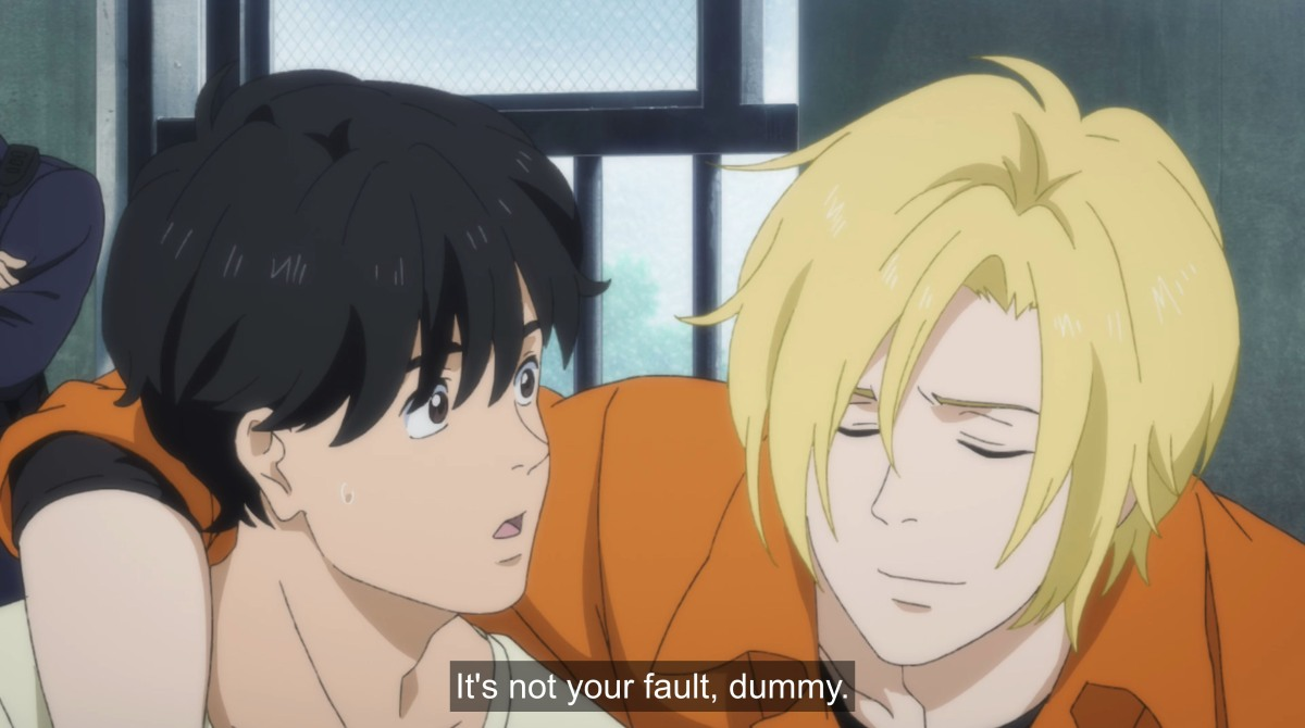 ash says it's not your fault