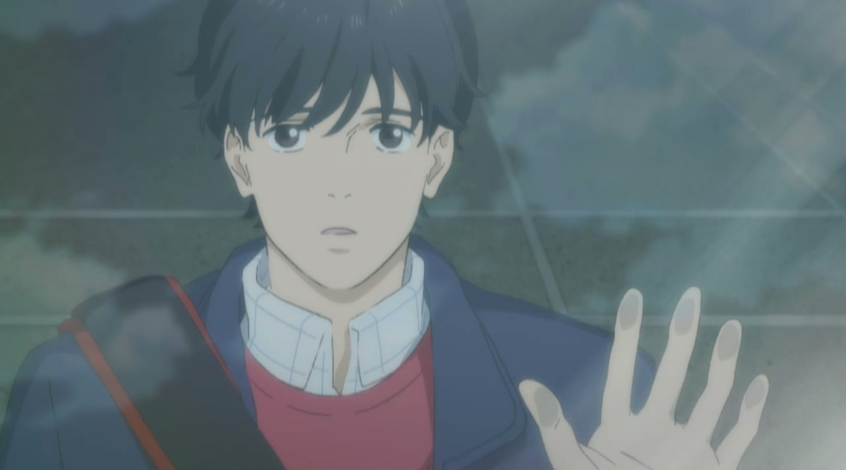 eiji looking up at the sky