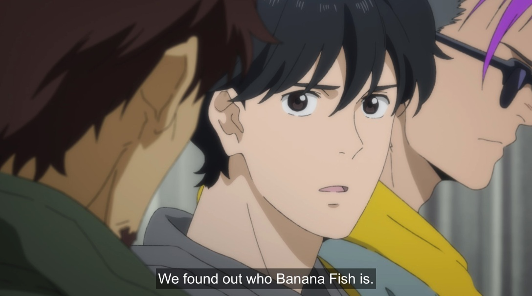 eiji says we found out who banana fish is