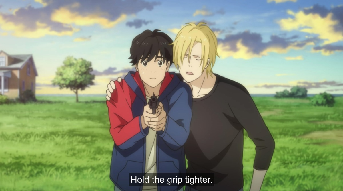 ash says hold the grip tighter
