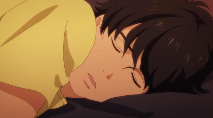 eiji sleeps