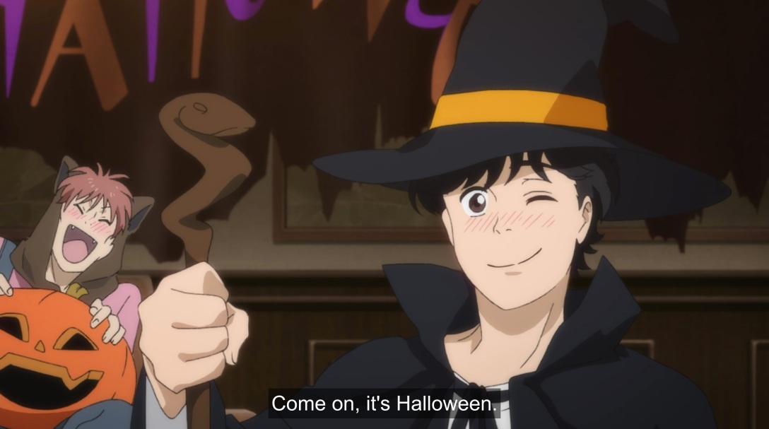 eiji says common is halloween