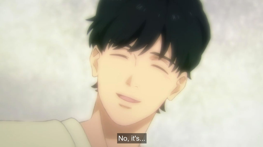 eiji's angel smile