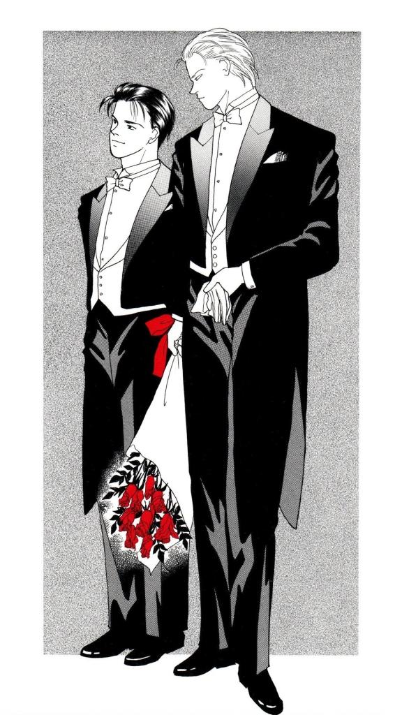 ash and eiji getting married binch