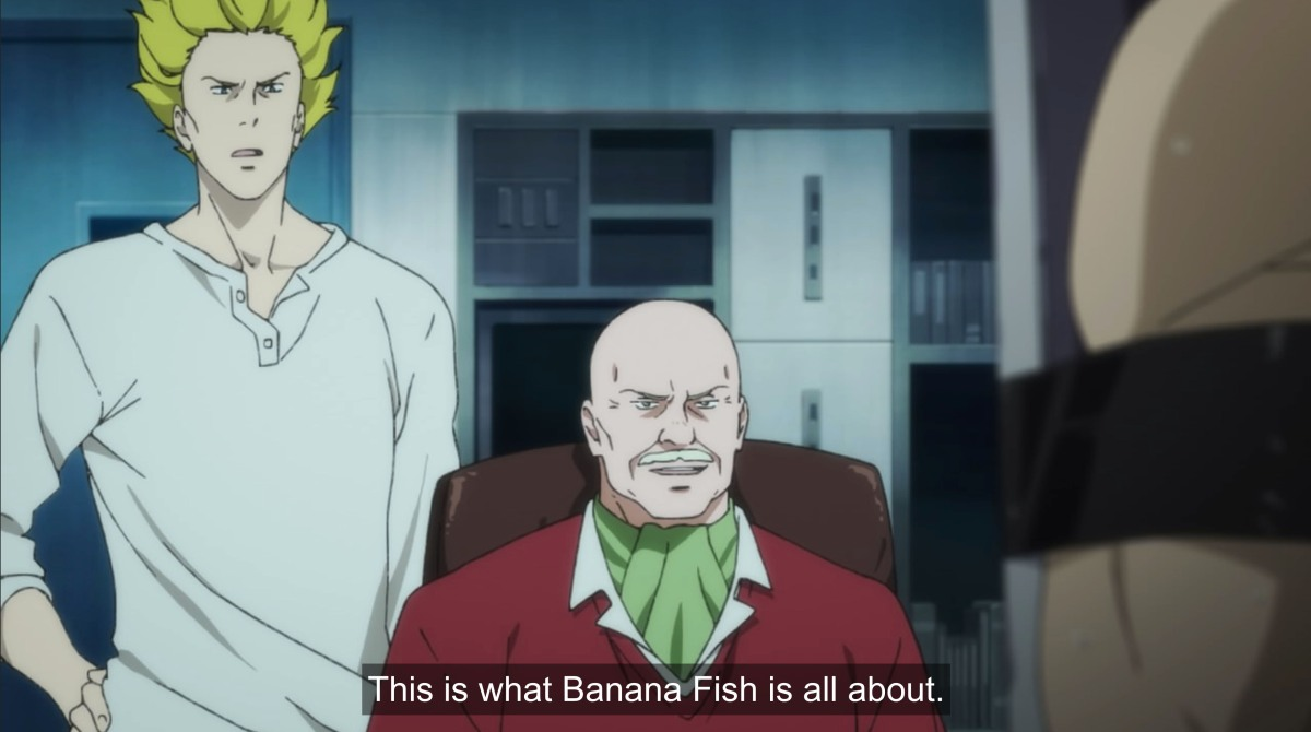 dino says this is what banana fish is all about