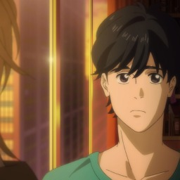 Eiji's the sun: staying by his side