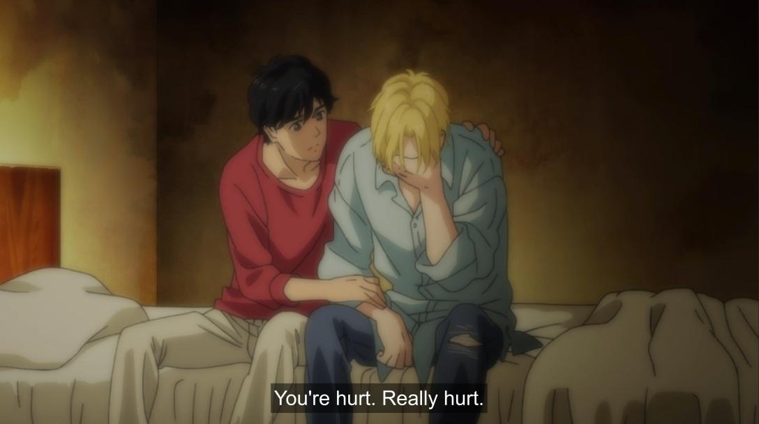 ash is hurt