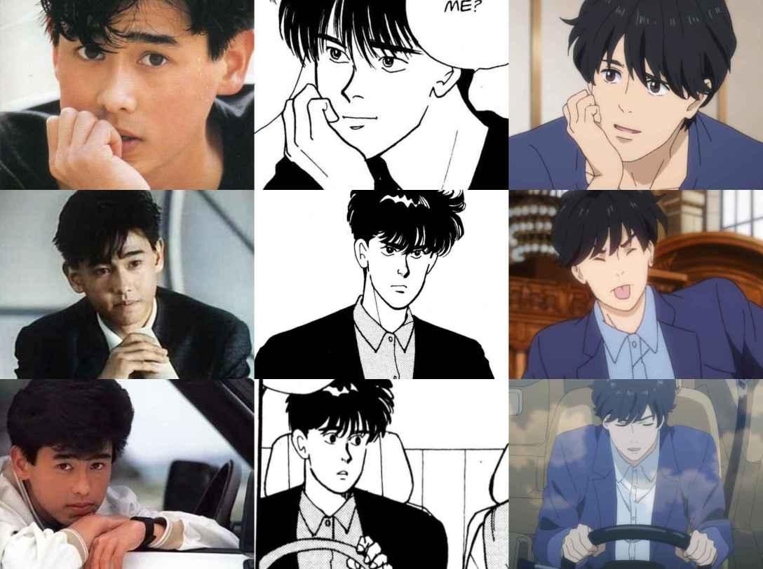 nomura, manga and anime eiji